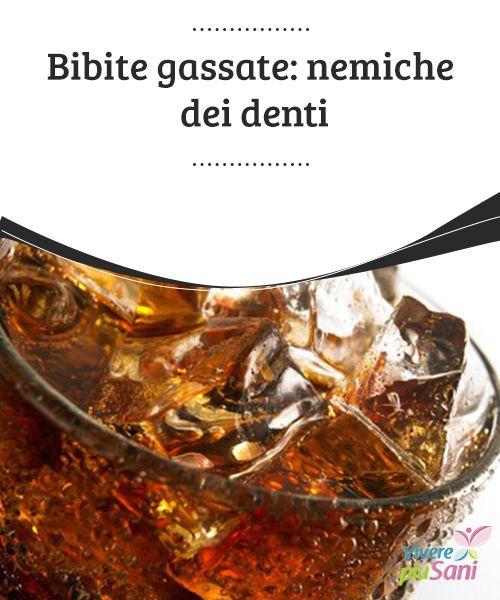 Bibite gassate: nemiche dei #denti   Bere #bibite #gassate è una cattiva #abitudine. Oltre a farci aumentare di #peso, fanno malissimo ai denti.