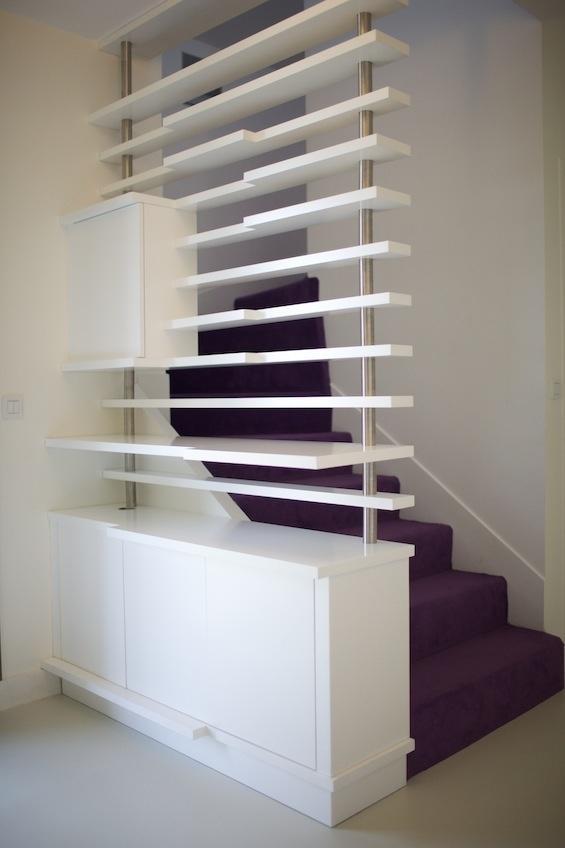 Les 25 meilleures id es de la cat gorie habillage escalier sur pinterest habillage escalier - Habillage escalier beton interieur ...