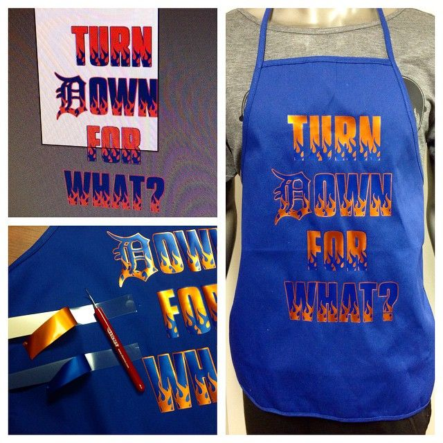 Fresh Off The Press I Just Customized An Apron Using