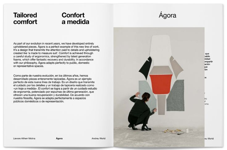 Lievore Altherr Molina — Projects for Andreu World—Spain