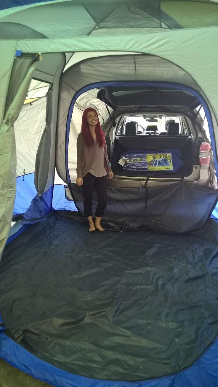 Sport SUV tent available at Subaru Calgary subarucalgary.com