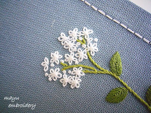 Freestyle Embroidery : Heliotrope - Mayu Embroidery