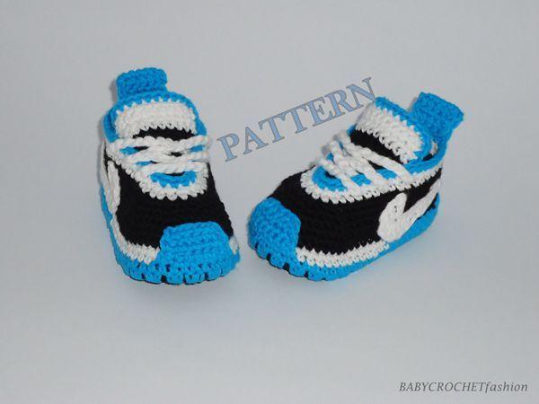 171 besten Crochet Booties (sneakers) Bilder auf Pinterest ...