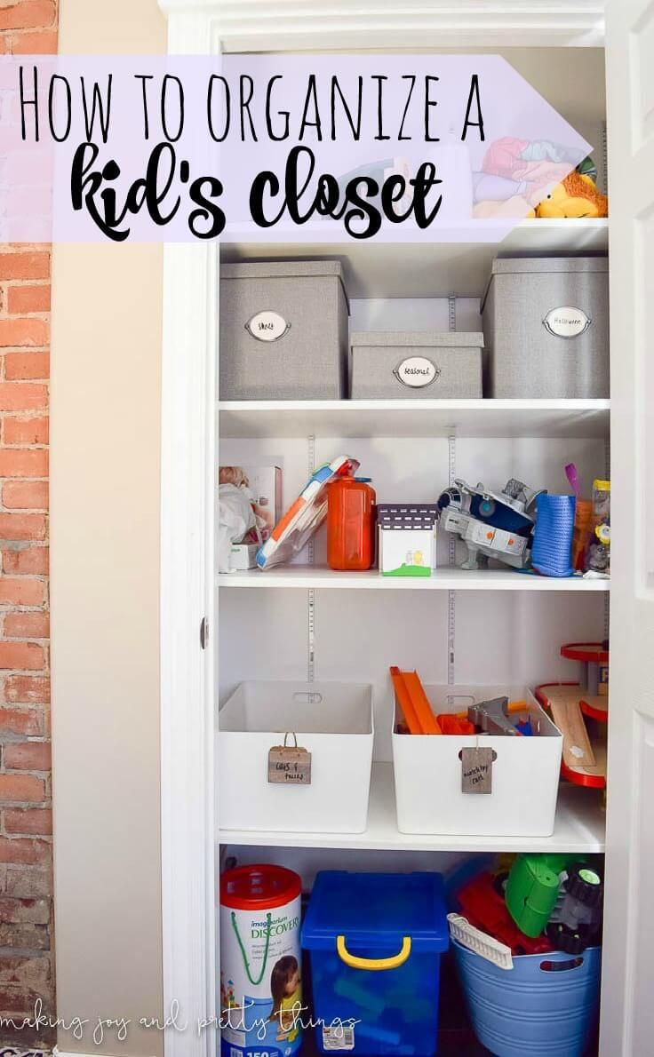 Delightful Best 25+ Organize Kids Closets Ideas On Pinterest | Kids Bedroom  Organization, Organize Girls Bedrooms And Kids Bedroom
