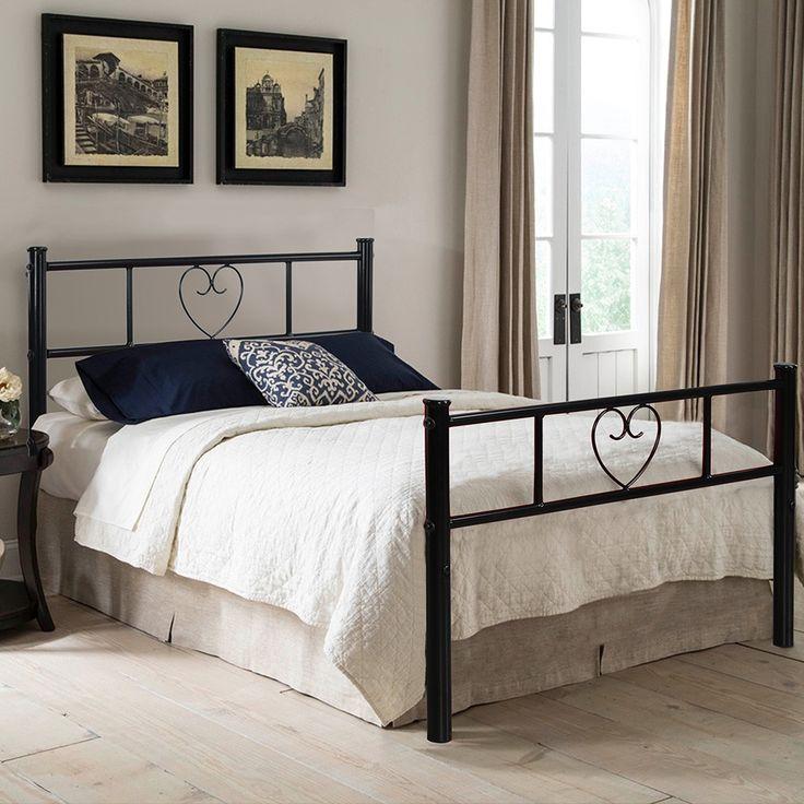 17 meilleures id es propos de cadres de lit en m tal sur pinterest lits m - Tete de lit en forme de coeur ...