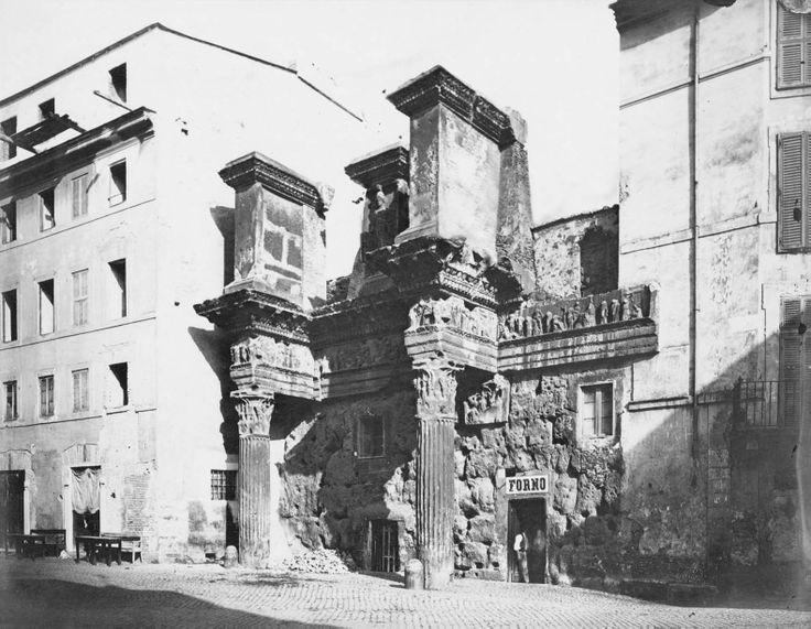 foro di domiziano . roma (1870)