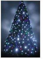 Fiber Optic Christmas Tree -  With Extra White LED Tree Lights  7 ft
