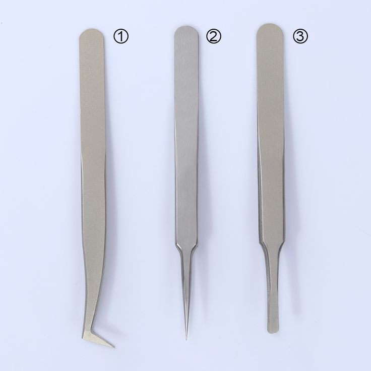 Curved Sharp Round Head Tweezer Stainless Steel Nail Sticker Rhinestone Picker Manicure Tool for Nail Art. Click visit to buy #Nail #Tool #NailTool
