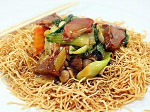 Pork Crispy Noodles