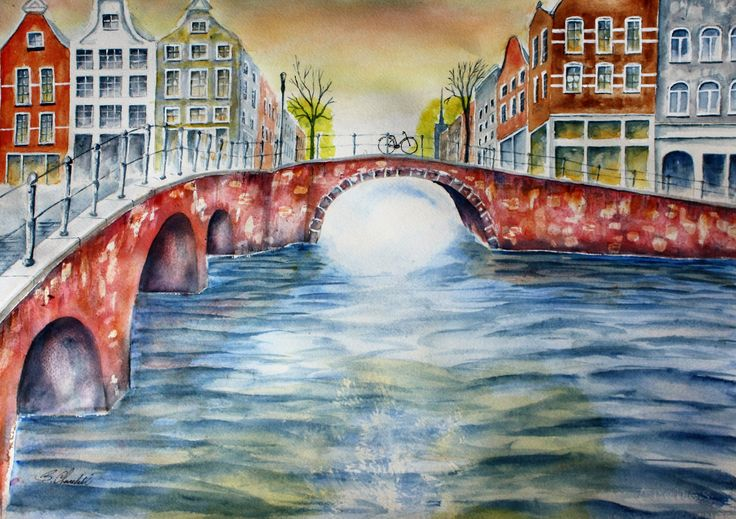 Amsterdam and its bridges