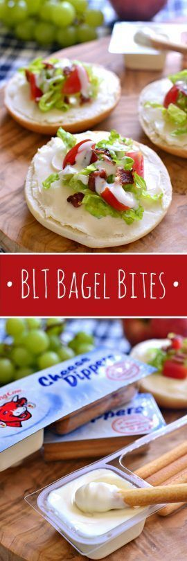 These BLT Bagel Bites make the perfect after school snack! Loaded with all the flavors of a BLT, plus the delicious…