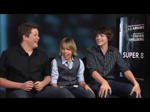 From left: Riley Griffiths, Ryan Lee, and Joel Courtney. Love you guys! Keep doing your thing!
