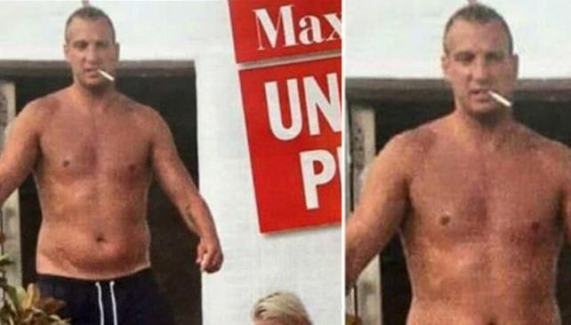Swedish model Daniela Christiansson defends boyfriend Maxi Lopez against overweight claims [Instagram]