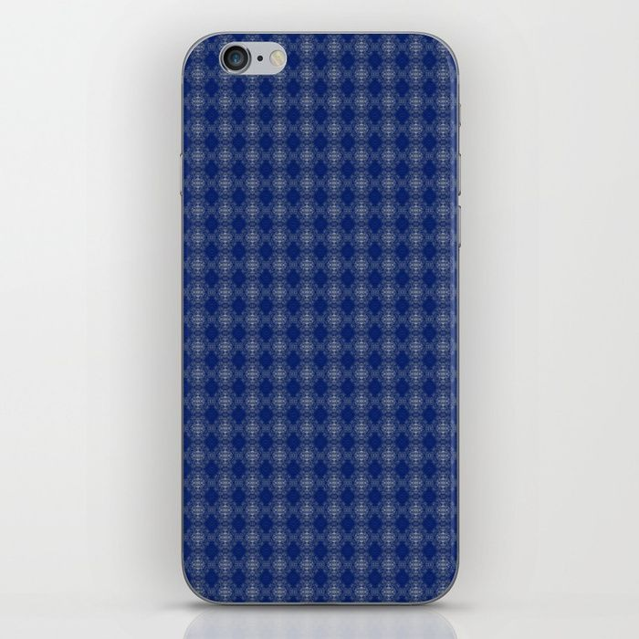 Skins are thin, easy-to-remove, vinyl decals for customizing your device. Skins are made from a patented material that eliminates air bubbles and wrinkles for easy application. blue, white, abstract, grid, pattern, design, computer generated, digital, society6, gifts, shopping, buy, sell, unique #artwork #abstract #darkblue #society6