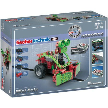 fischertechnik Robotics Mini Bots, Multicolor