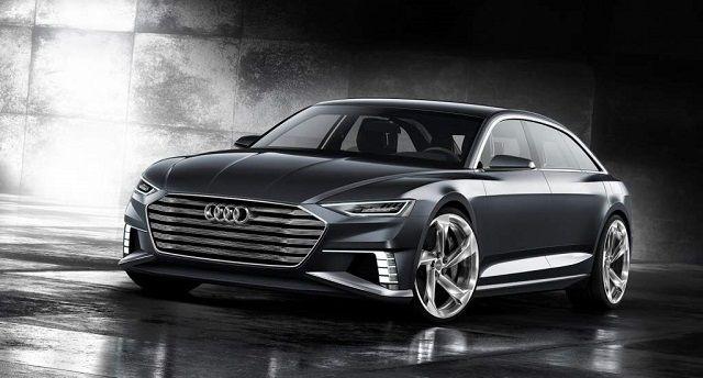 2018 Audi A8 hybrid front view