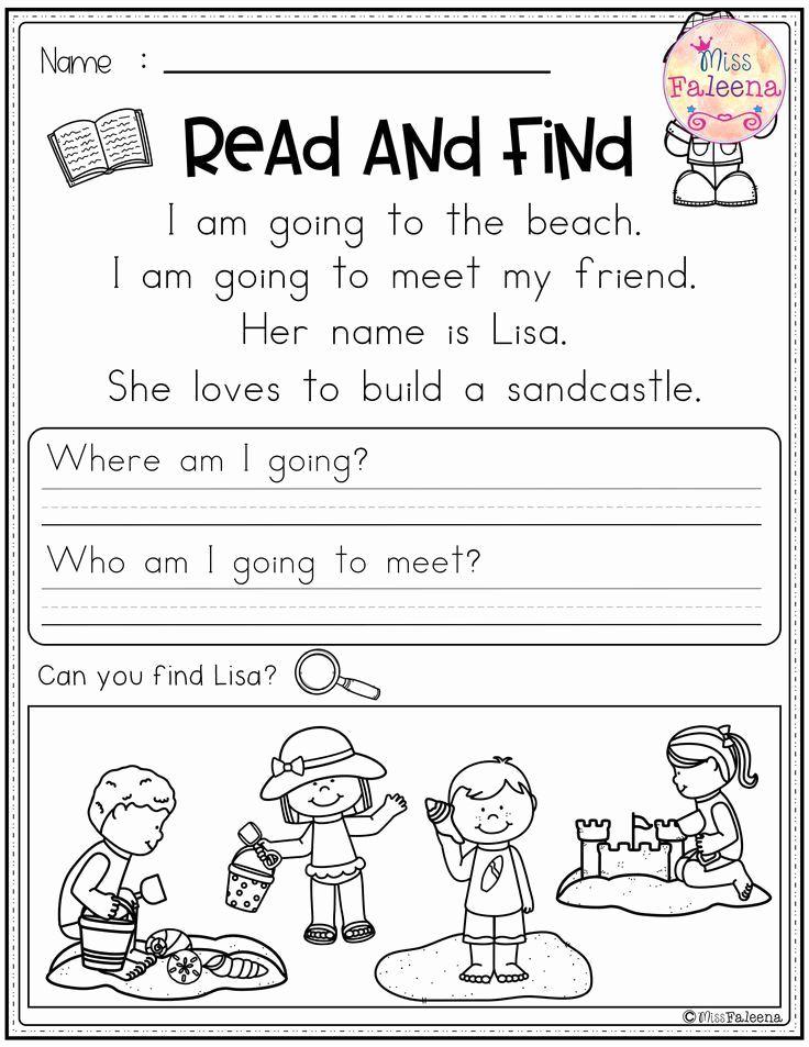 Pin On Kindergarten Reading Comprehension