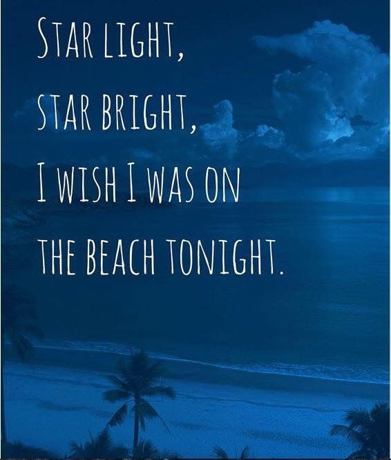"""I wish I *were* on a beach tonight. Statement contrary to fact: use the subjunctive. """"I wish 'I am on the beach tonight' were not a statement contrary to fact!"""" ;-)"""