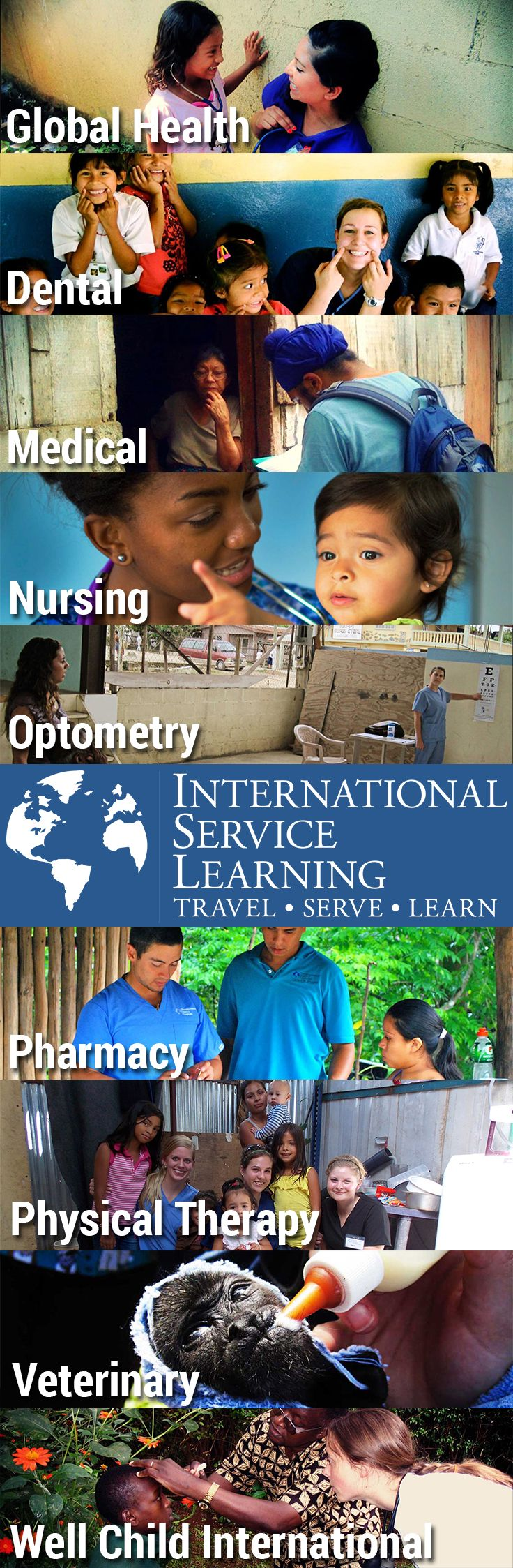 Here are a few of the programs that ISL has to offer! With everything from medical trips to ecology trips, there is something for everyone.