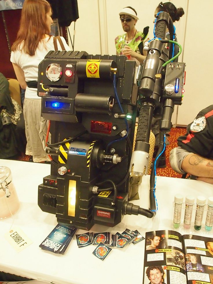 Custom Extreme Ghostbusters Proton Pack