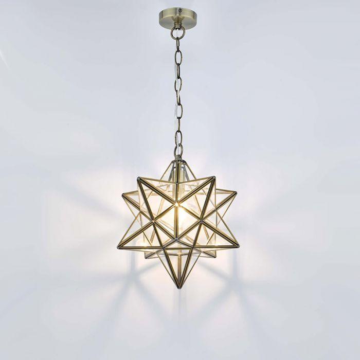 Dar Ilario Ceiling Pendant Light Antique Brass Ceiling Pendant Pendant Light Ceiling Pendant Lights