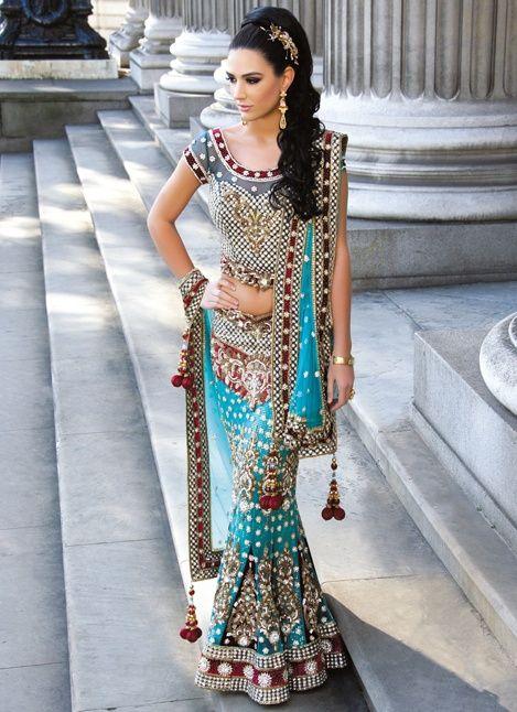 【世界の花嫁衣装】インドの民族衣装がとにかく可愛い!サリーの画像集
