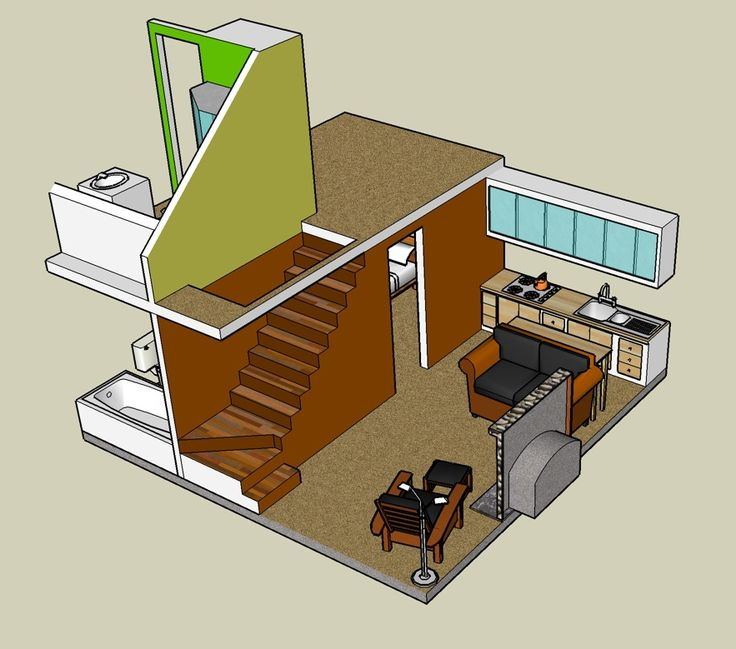 Image Detail For -Minimalist Tiny House Design Concept