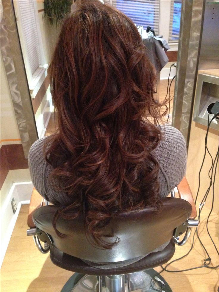 Red Highlights With Dark Brown Hair Health Amp Beauty