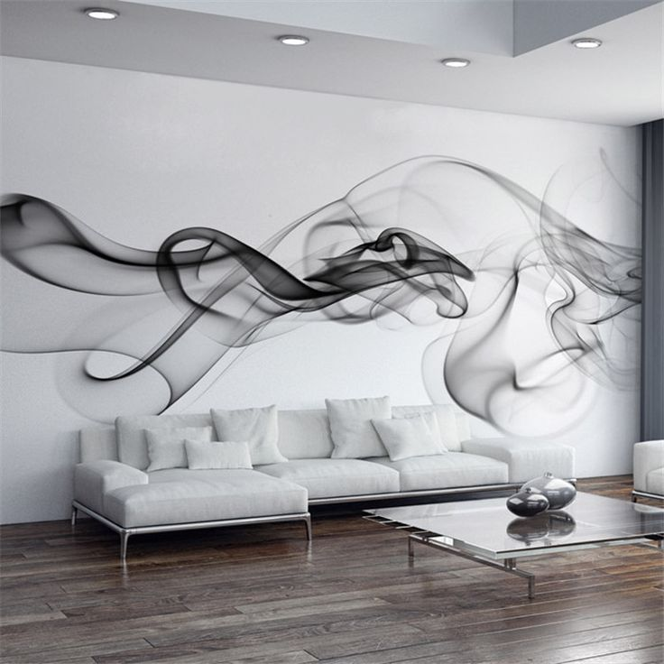Find More Wallpapers Information about Smoke Fog Photo Wallpaper Modern Wall Mural 3D view wallpaper Designer Art Black & White Room decor Bedroom Office Living room,High Quality wallpaper mural art,China wallpaper waterproof Suppliers, Cheap wallpaper floral from Art Wallpaper Mural warehouse on Aliexpress.com