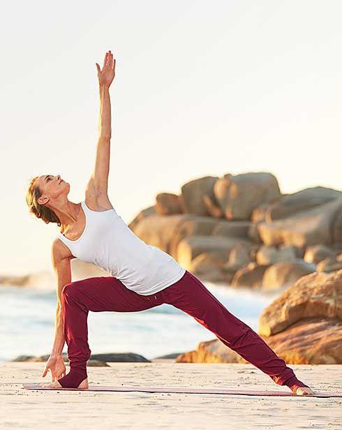 Pre vnútorný pokoj a rovnováhu: Oblečenie a pomôcky na jogu