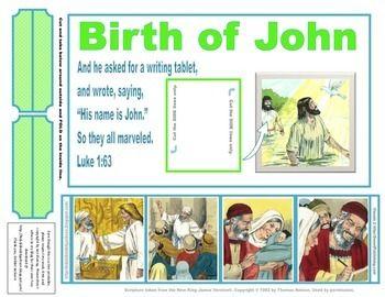 freebie john the baptist sunday school john the baptist craft 1 birth ...