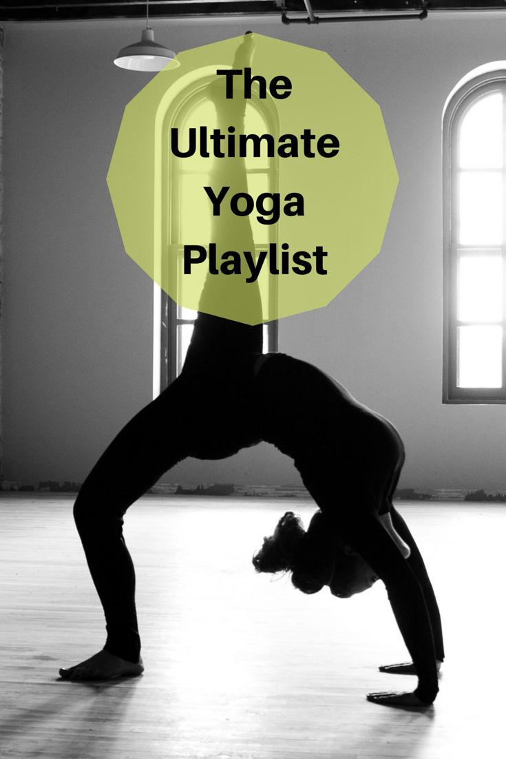 The ultimate yoga playlist to keep you in the zone
