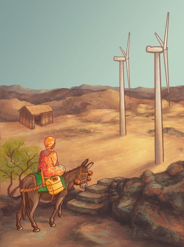 Wayúu, La Guajira, Camila Sánchez on ArtStation at https://www.artstation.com/artwork/wayuu-la-guajira