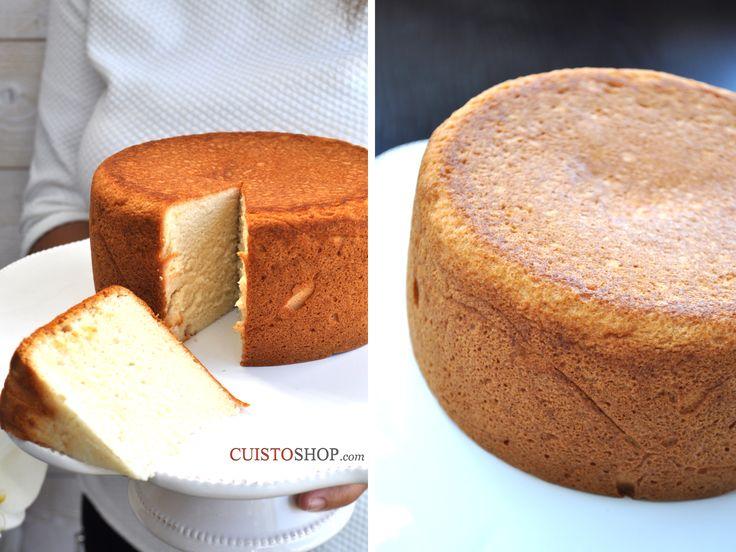 Marshmallow Cake Moule utilisé 15cm de diamètre Vous pouvez doubler les quantités pour un moule haut d'environ 20 cm de diamètre