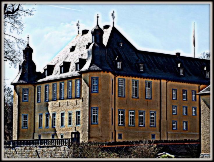Schloss Dyck, nachbearbeitet (HDR)