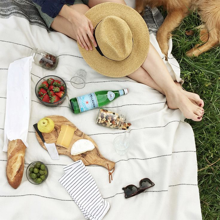 Impromtu picnics in the park.