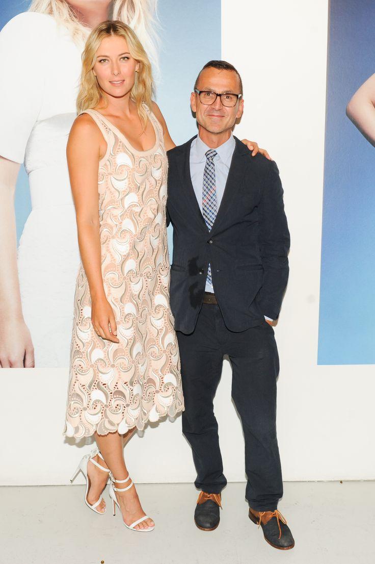 Chatting Up Maria Sharapova At The CFDA's Fashion Targets Breast Cancer Shindig