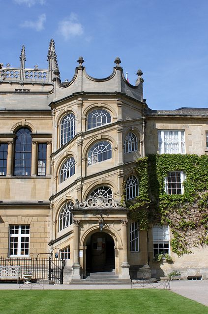 The Jackson Staircase: Hertford College, UK by curry15, via Flickr