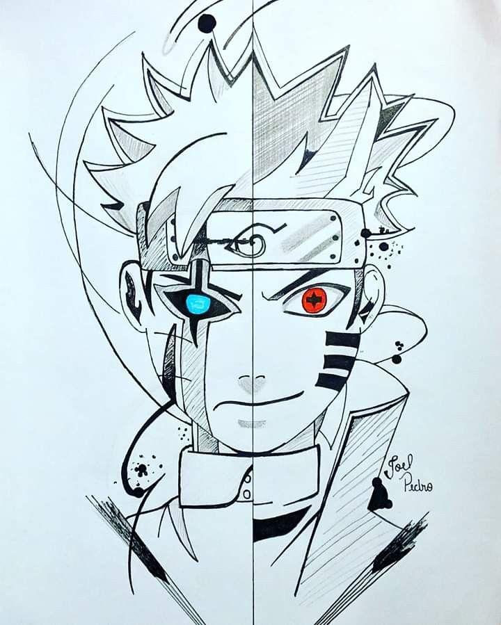 Clique 2x Na Imagem E Veja A Magica Naruto Uzumaki Art Naruto Uzumaki Naruto Sketch