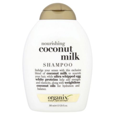 OGX Nourishing Coconut Milk Shampoo will not only keep your hair healthy but will also smell like summer <3 #OGX #Hair #Coconut