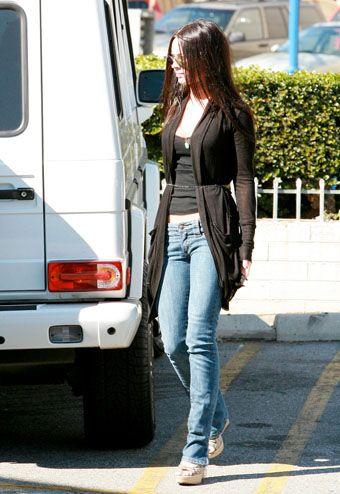 Casual Style-Megan Fox