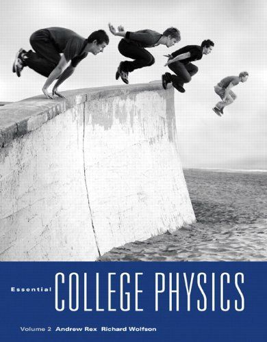 """Essential College Physics, Volume 2 by Andrew Rex. Save 9 Off!. $77.99. Publication: November 6, 2009. Edition - 1. Publisher: Addison-Wesley; 1 edition (November 6, 2009). New Paperback 1st Edition(as shown)"""" Essential College Physics, Volume 2""""clean pages,minor shelf wear,Fast shipping........(A-2)                                                         Show more                               Show less"""