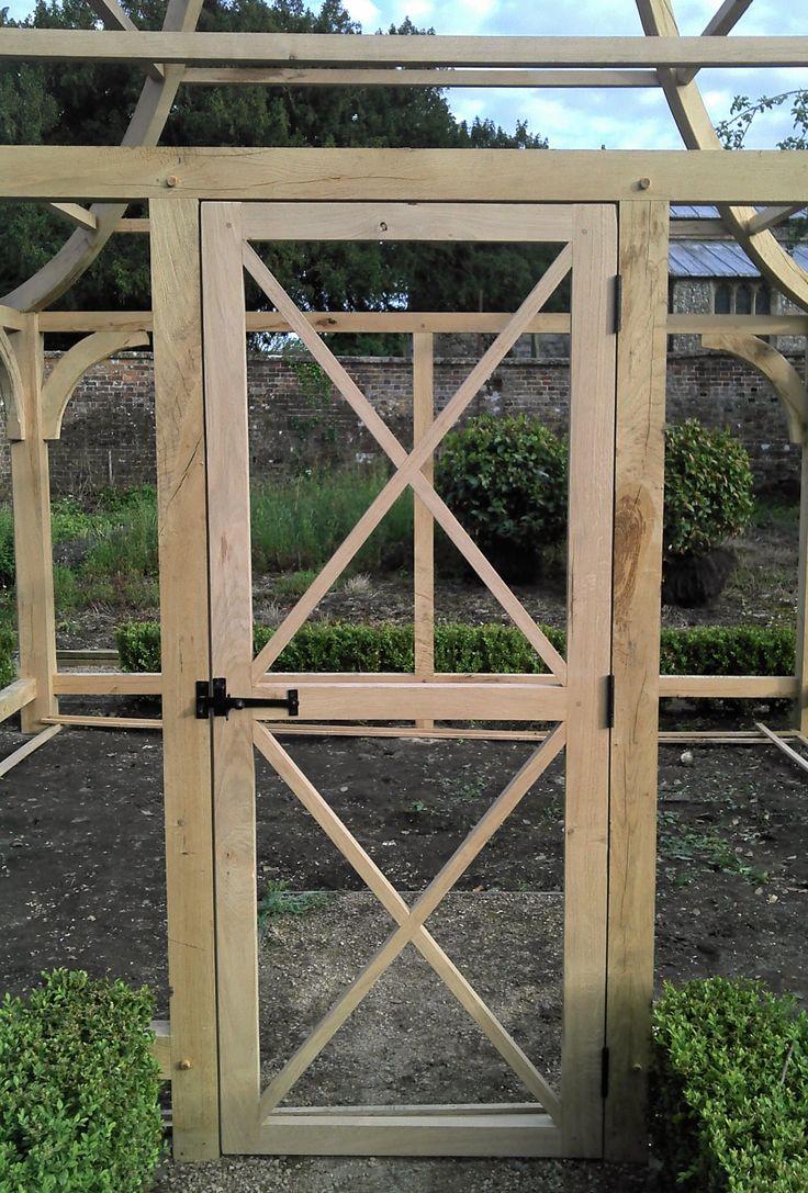 Vegetable garden plans for beginners ayanahouse - Door To Garden Chicken Coop