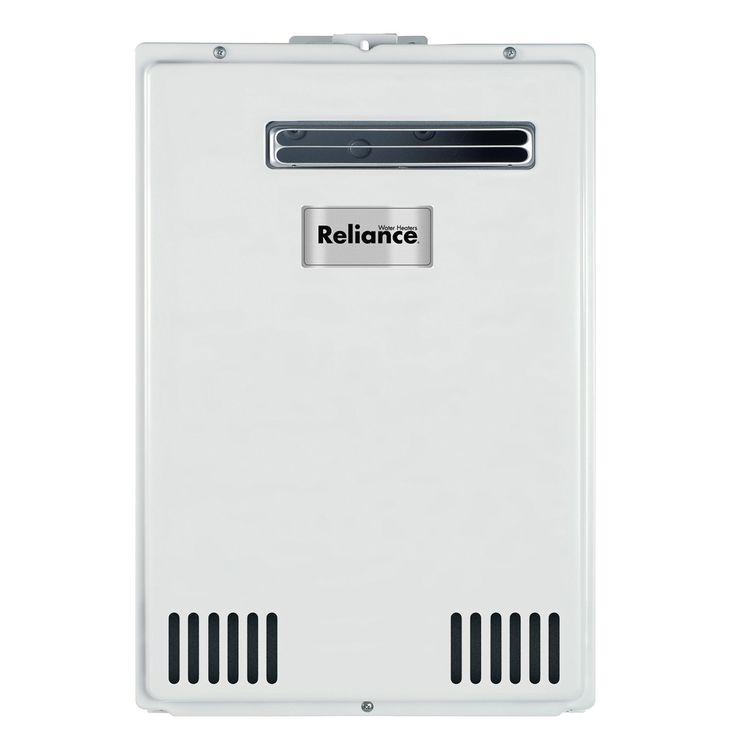 Jensen Reliance TS140-GEH 120,000 BTU Gas Outdoor Tankless Gas Water Heater