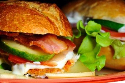 Rancho Chickamonga Sandwich!! so good.