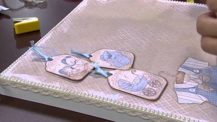 Mulher.com - 27/01/2016 - Caixa de recordação baby - Marisa Magalhães PT2