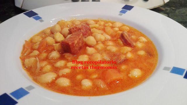 Recopilatorio de recetas thermomix: Guiso de garbanzos con verduras sin gluten thermomix