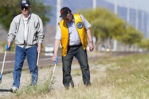 Ahwatukee Lions Club members clean up Pecos Road