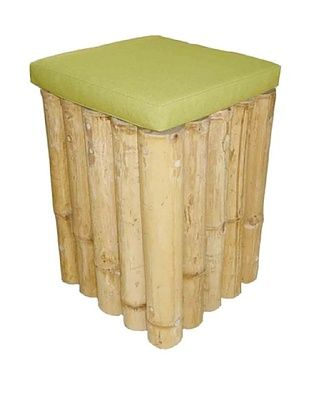 40% OFF ZEW, Inc. Indoor Bamboo Square Stool