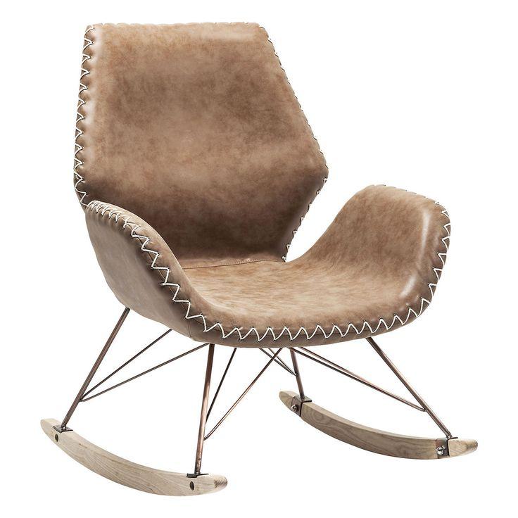 Florida Brown Rocking Chair • WOO Design